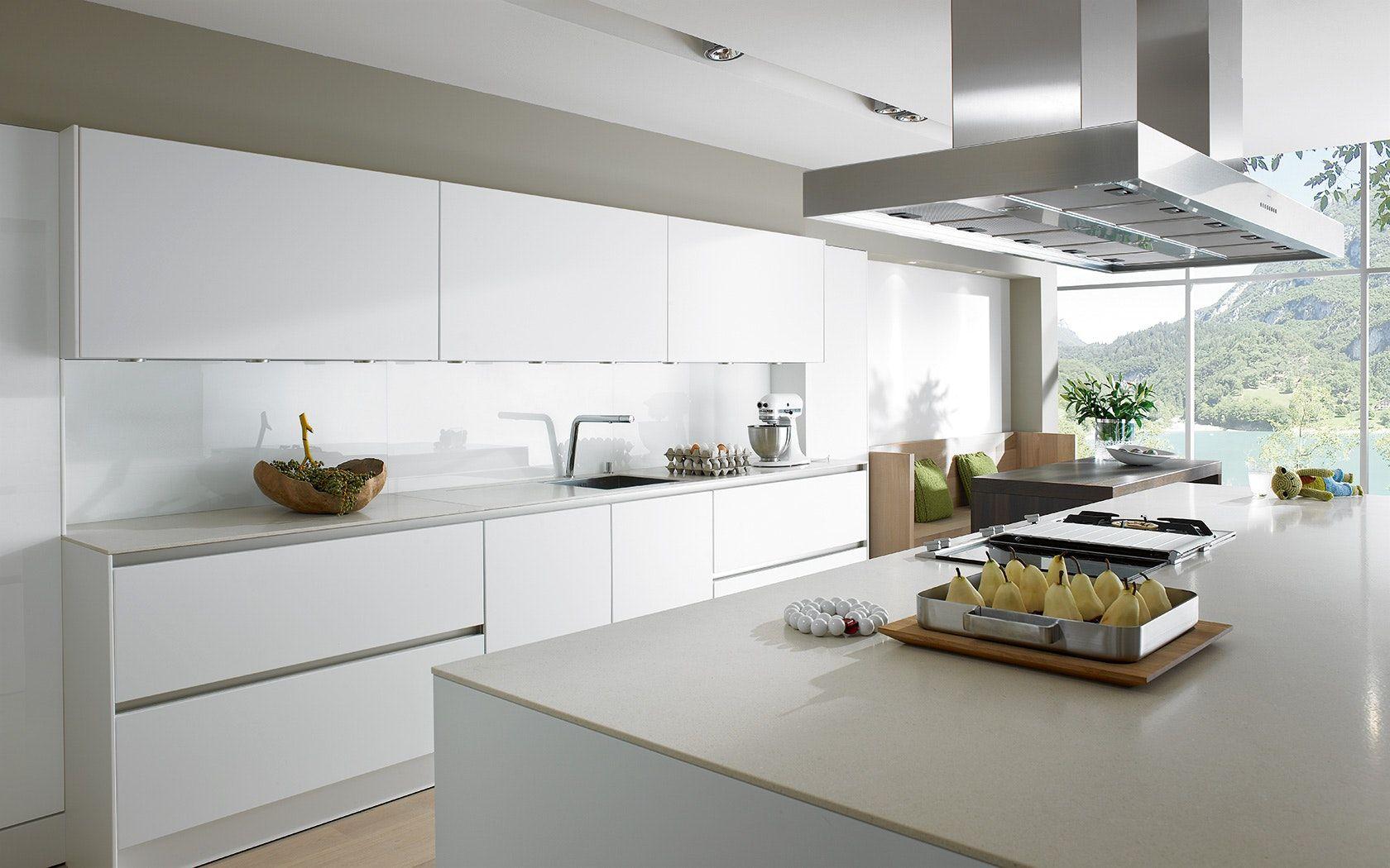 Dekoration Fur Wohnzimmer Bewildering Küche Ohne Griffe On ...