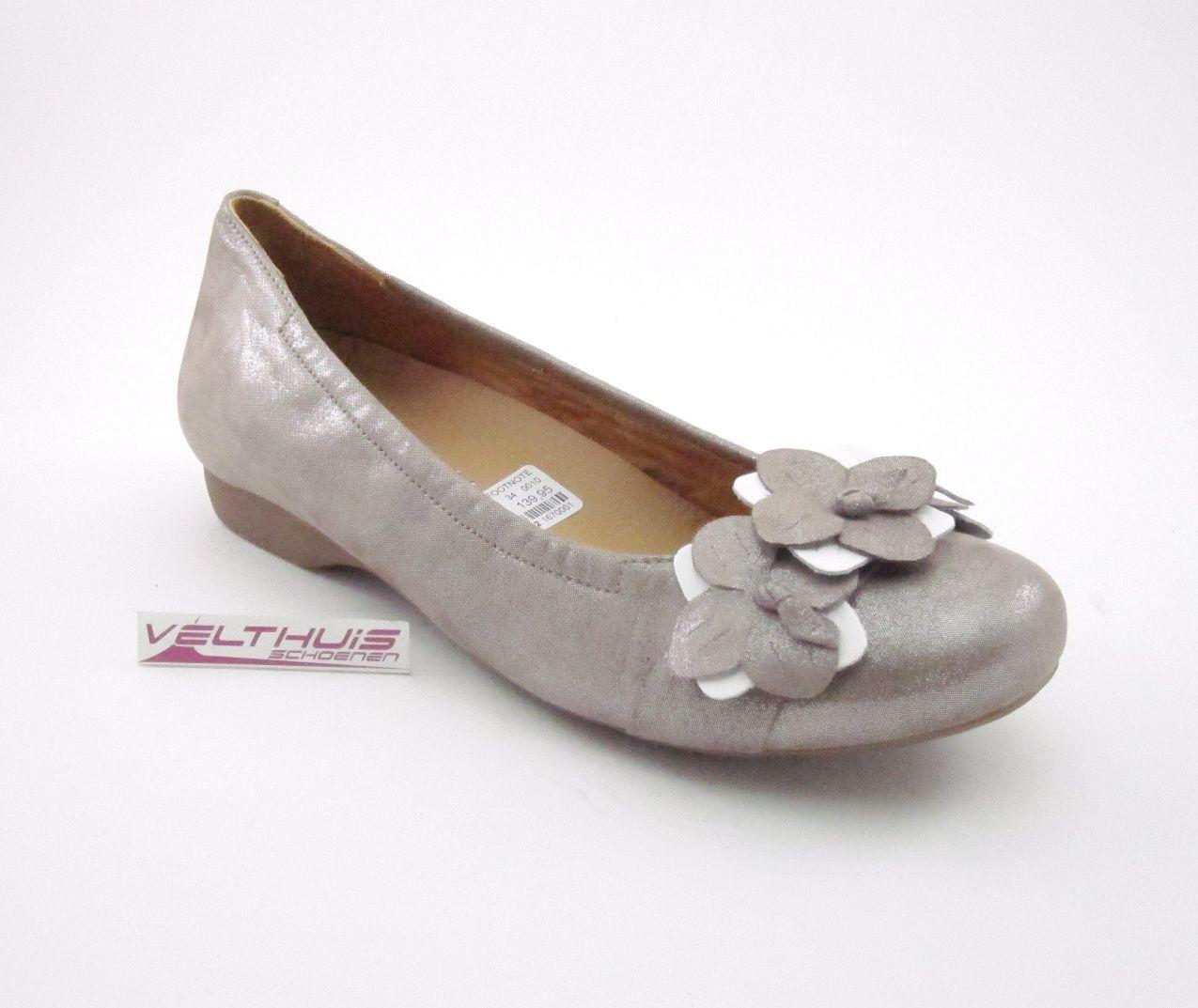 FOOTNOTES 41.705 Dames Pumpballerina kleur Taupe materiaal