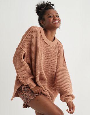 Aerie Chenille Oversized Sweater