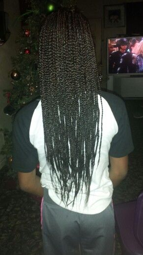 Box Braids Feather Tips