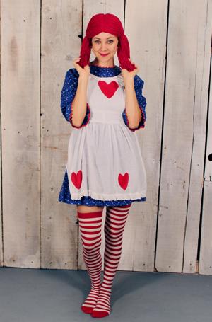 raggedy ann costume ideas funny halloween costume ideas for women halloween costumes - Quirky Halloween Costume Ideas