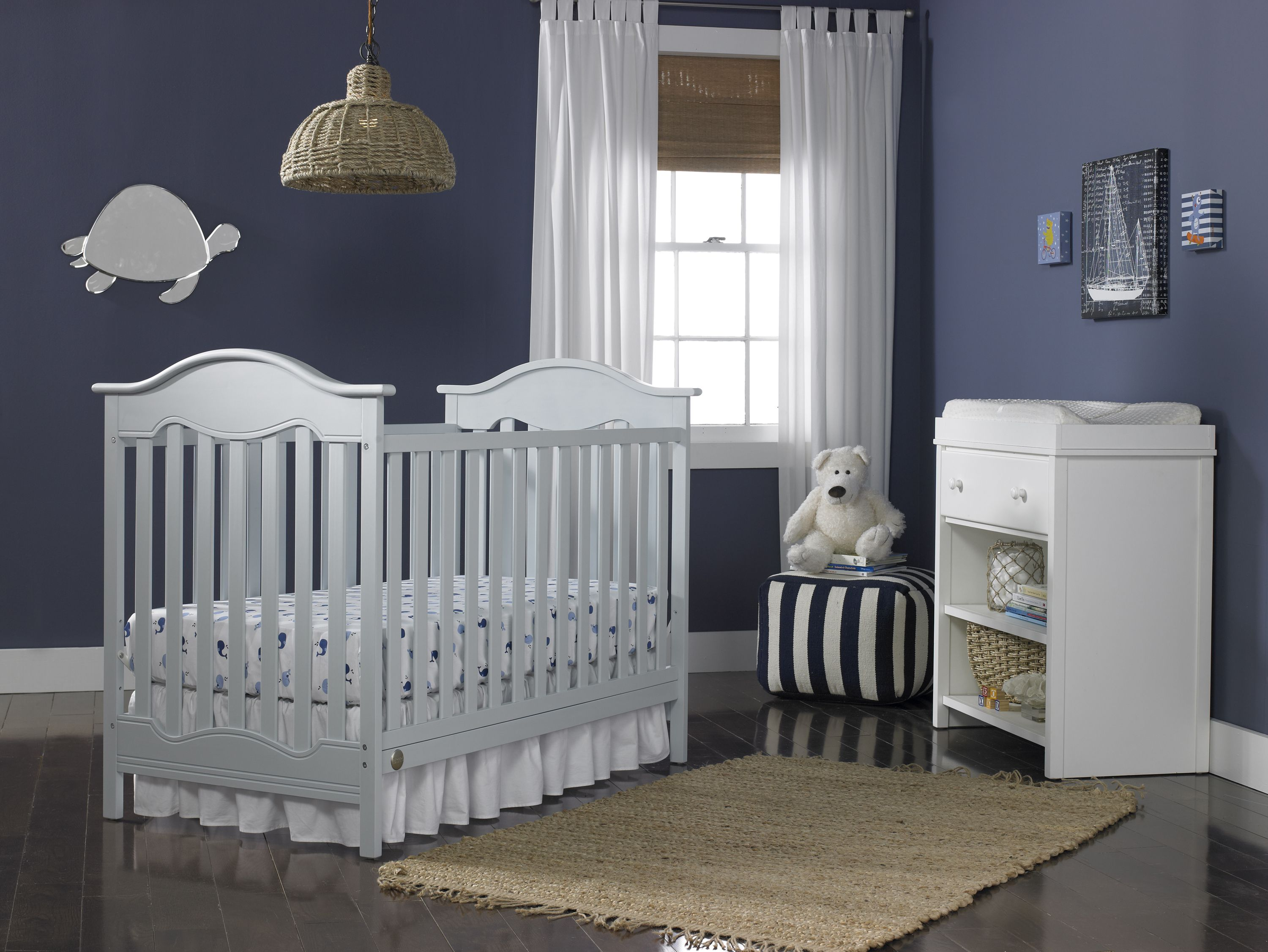 Fisher Price Charlotte Crib In Powder Blue Available At Walmart Com