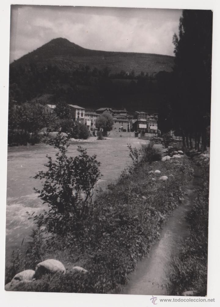 FOTOGRAFIA MARTINET 1952 LLEIDA ANTIGUA FOTOGRAFIA BLANCO Y NEGRO 10,5X7,5CM