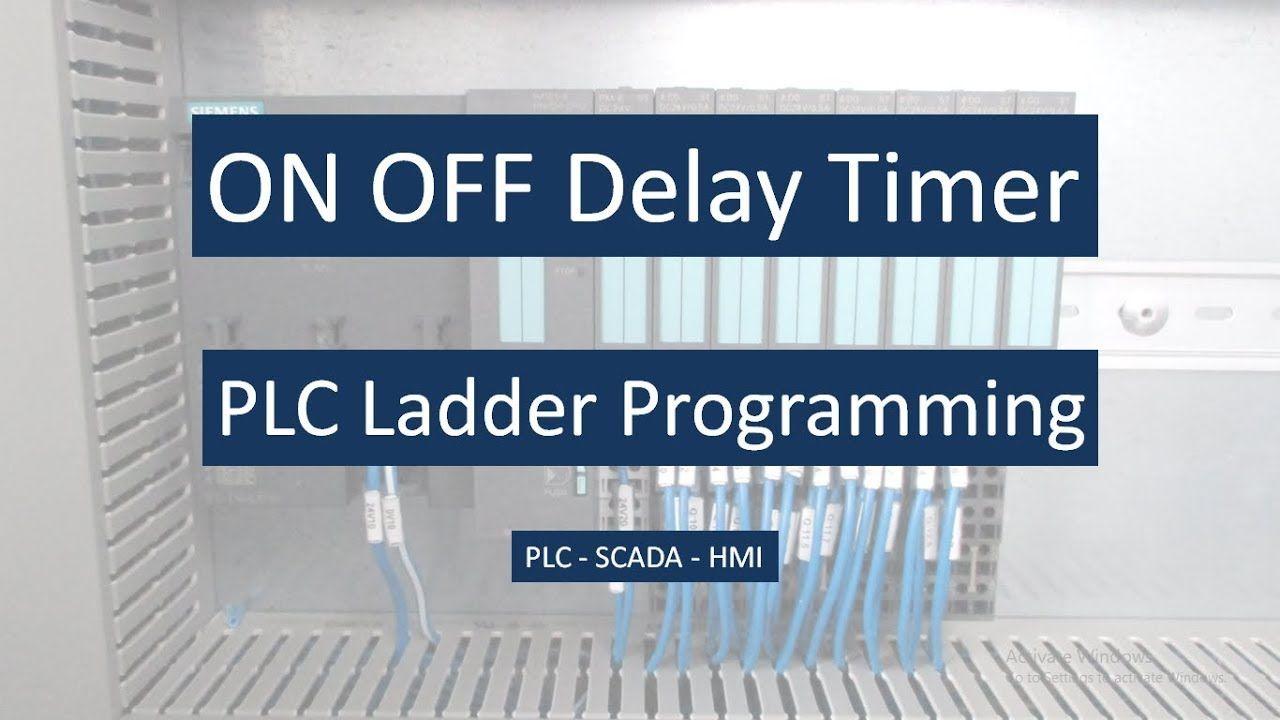 Plc Ladder Programming On Delay And Off Delay Timer In Delta Wplsoft Popular Plc Videos In Automation Desig Plc Programming Ladder Logic Programming Tutorial