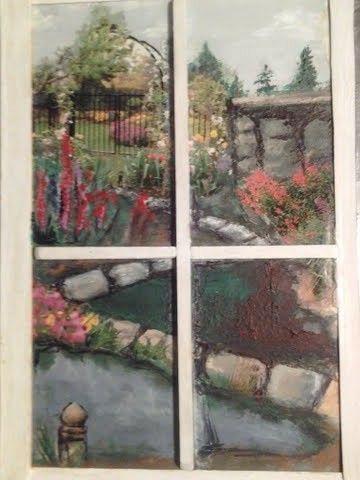 My Garden Painting I created.