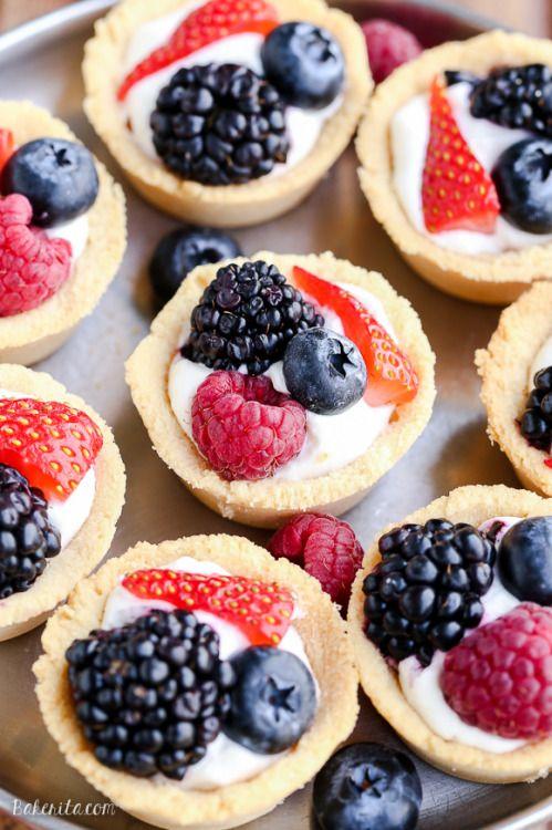 Mini Berry Tarts (GF Vegan Paleo)Really nice recipes Every - meine vegane küche