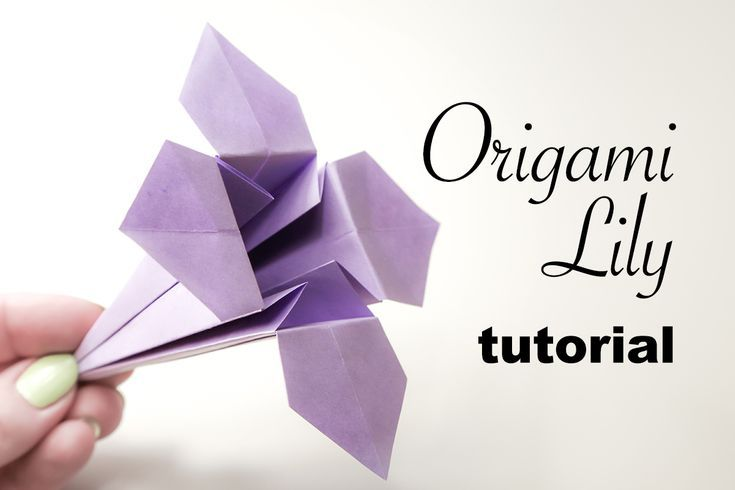 Photo of How to Make a Pretty Origami Lily