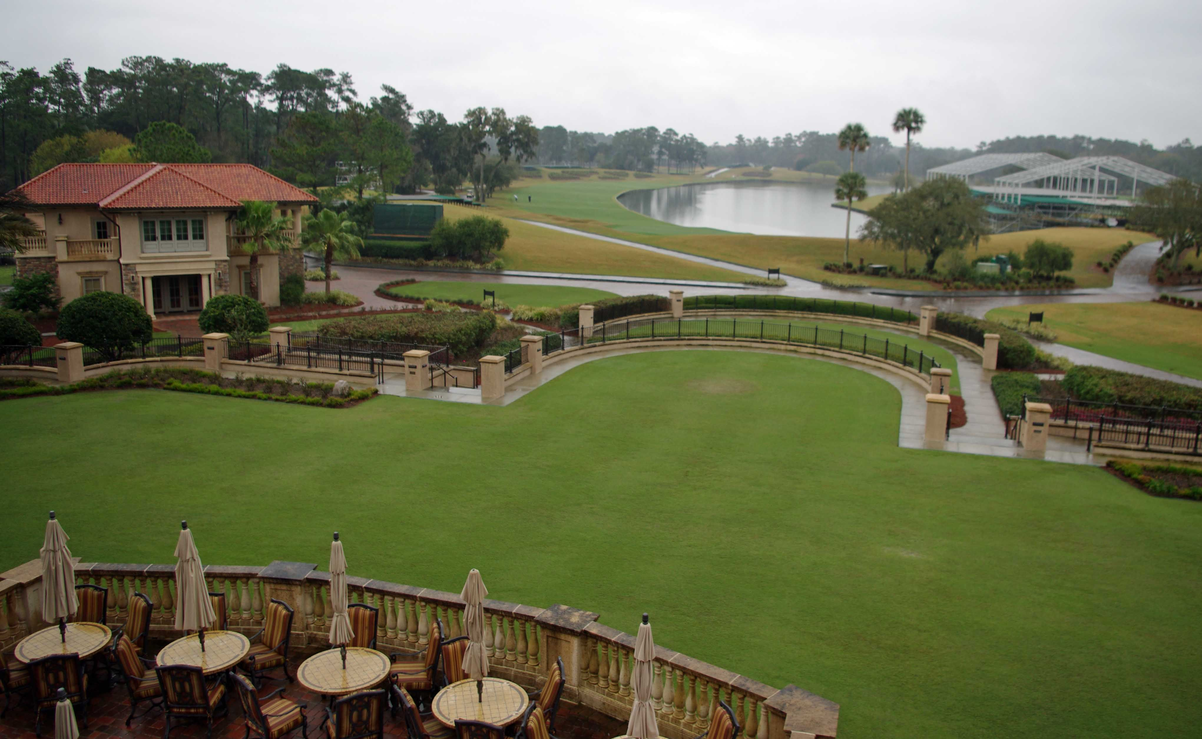 TPC Sawgrass view from clubhouse Florida travel, Golf