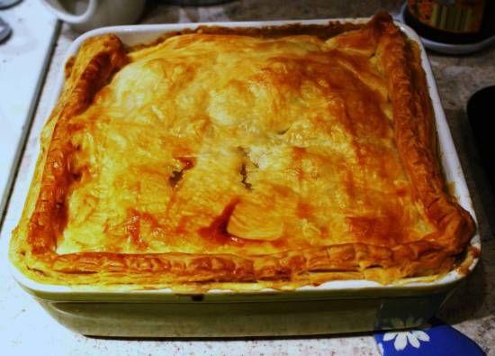 Heerlijke Herfst Kip-champignon-groentetaart (British Pie) recept   Smulweb.nl
