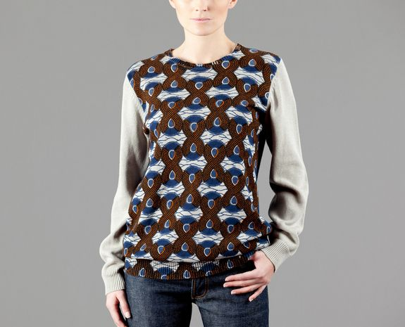 Tigersushi Furs Multicolor Wax Sweater on sale at L'Exception