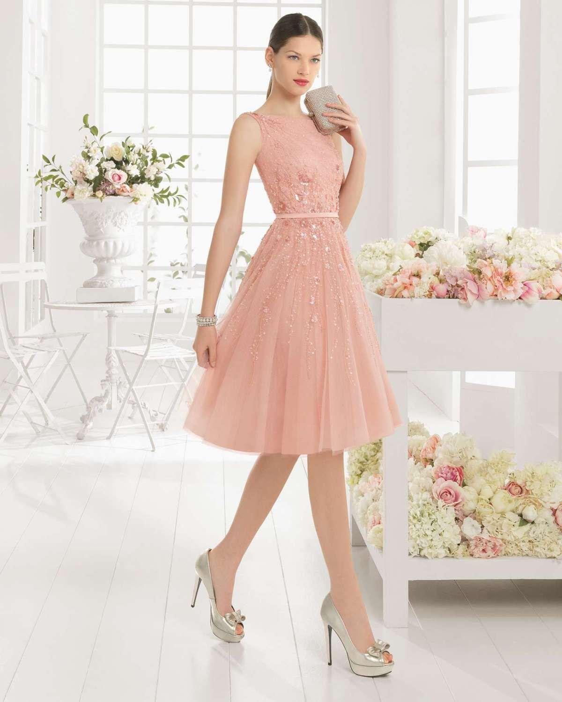 e349e0615 30 Vestidos color Rosa largos y cortos para Fiestas
