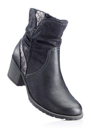 Toll zu kombinieren: Stiefelette von bpc schwarz