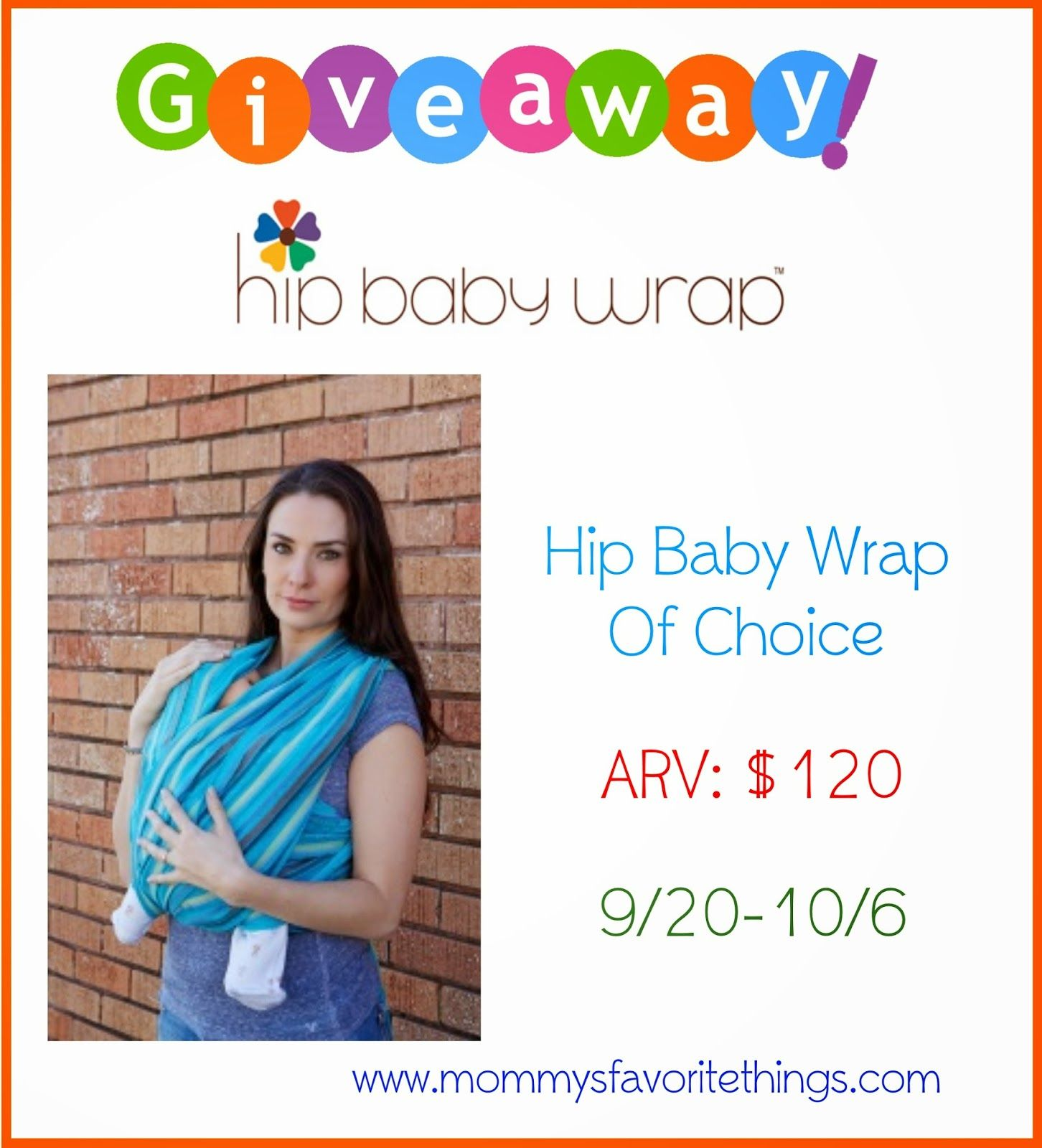 Hip Bab Wrap Giveaway ends 10/6 - ConservaMom
