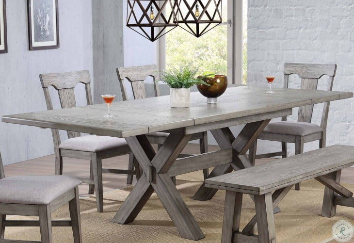 25++ Trestle dining table set with bench Various Types
