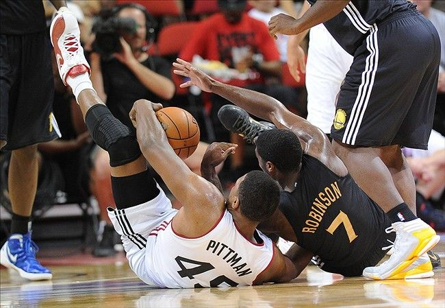 Heat rally in fourth, edge Spurs, 83-78
