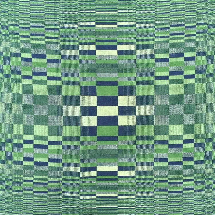 Triple Weave Ombre Block
