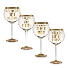 Hilariously Ridiculous Wine Glasses With Sayings Like