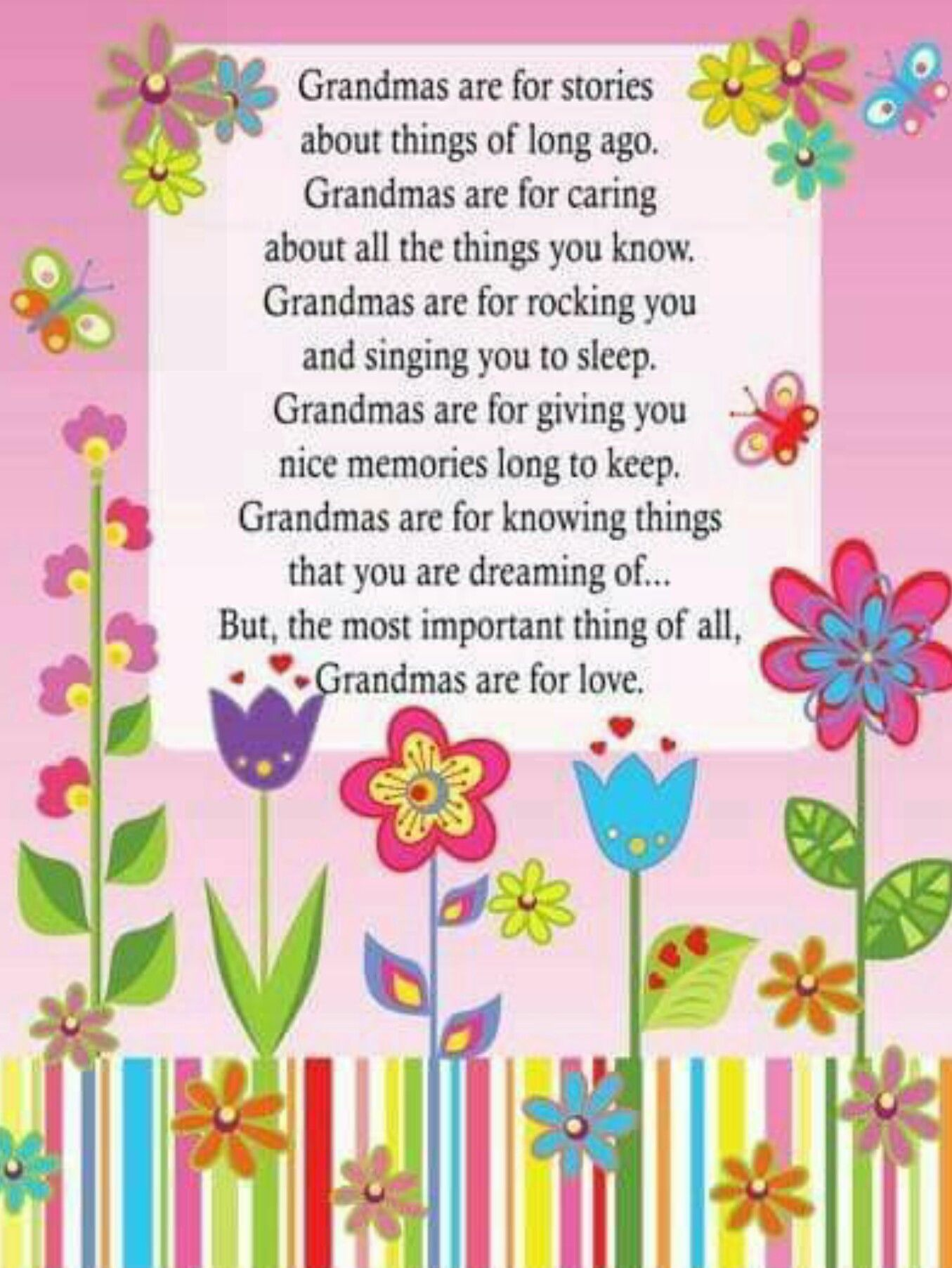 Grandmas Are For Stories Happy Birthday Grandma Grandma Poem Mothers Day Poems