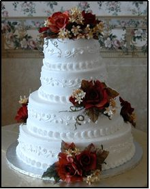 2 Tier Wedding Cake Walmart : wedding, walmart, McArthur's, Bakery, Wedding, Prices, Walmart, Cake,, Prices,, Photos