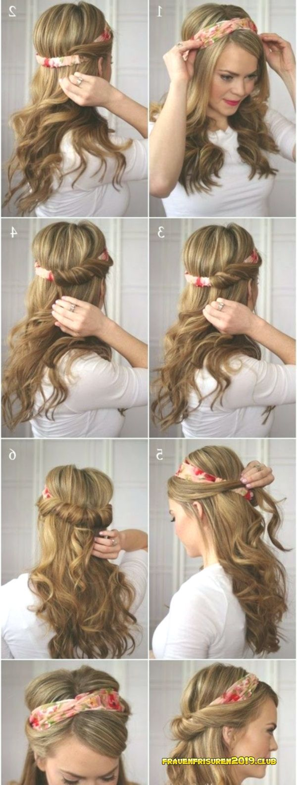Easy Quick Hairstyles 2019 - 40 Fast and Easy Back to ...