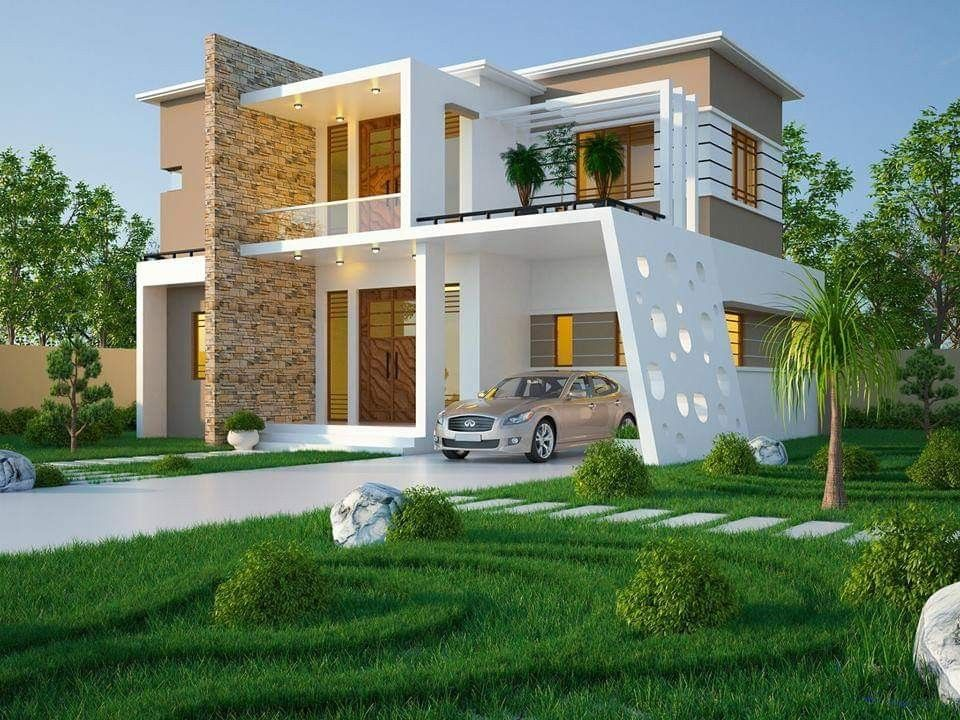 Most 50 Beautiful House Design For 2020 In 2020 Bungalow House Design Kerala House Design House Exterior