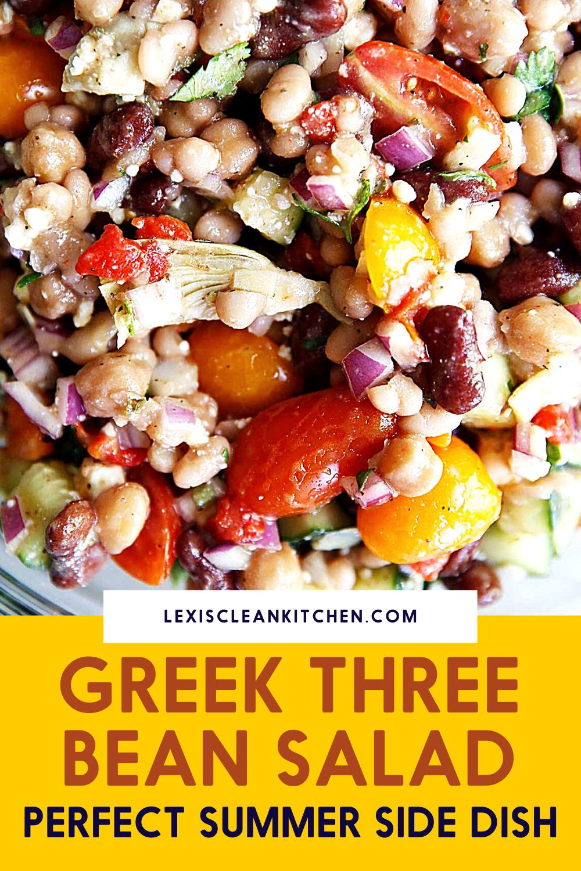 Greek Three Bean Salad Recipe