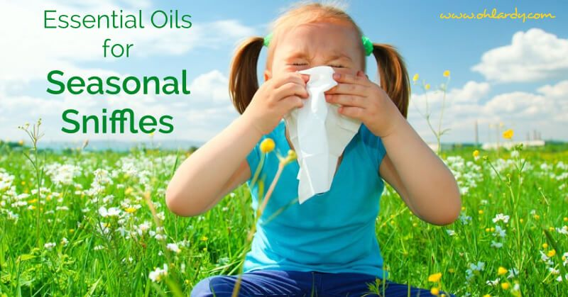 Seasonal Sniffle Roll On Recipe Essential oils