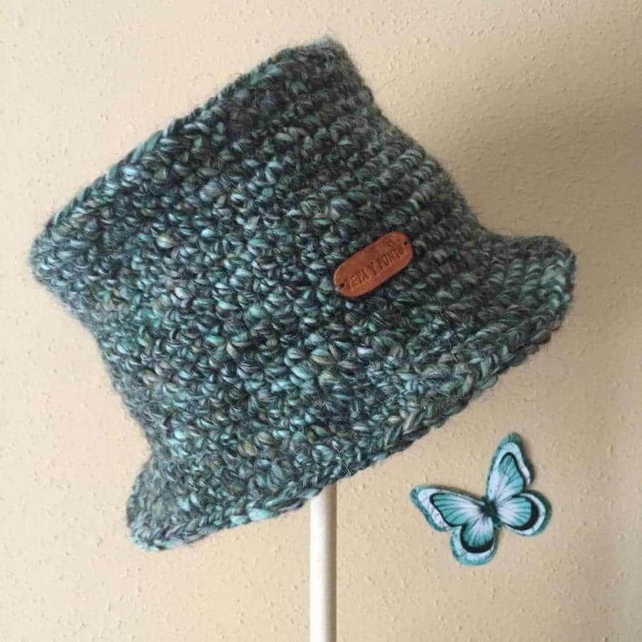 Como hacer un gorro a crochet rápido y fácil | pia | Pinterest ...