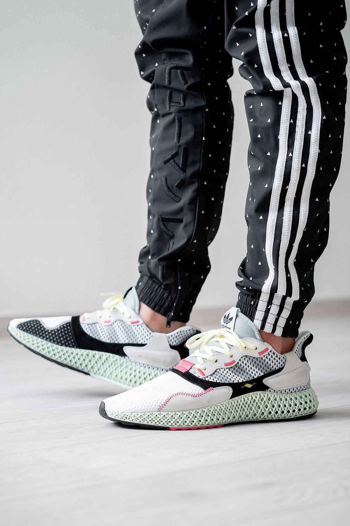 搶先預覽 adidas 革新混血跑鞋 ZX 4000 4D | Modelos de ...