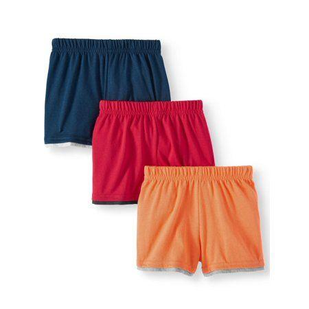 Photo of Garanimals – Garanimals Baby Boy Jersey Knit Shorts, 3pc Multi-Pack – Walmart.com
