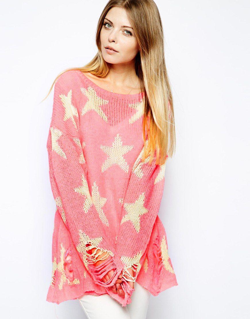 Wildfox Seeing Stars Sweater