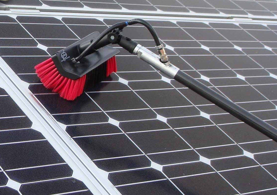 Solar panel cleaning carpet cleaning tile floor restoration solar panel cleaning dailygadgetfo Choice Image