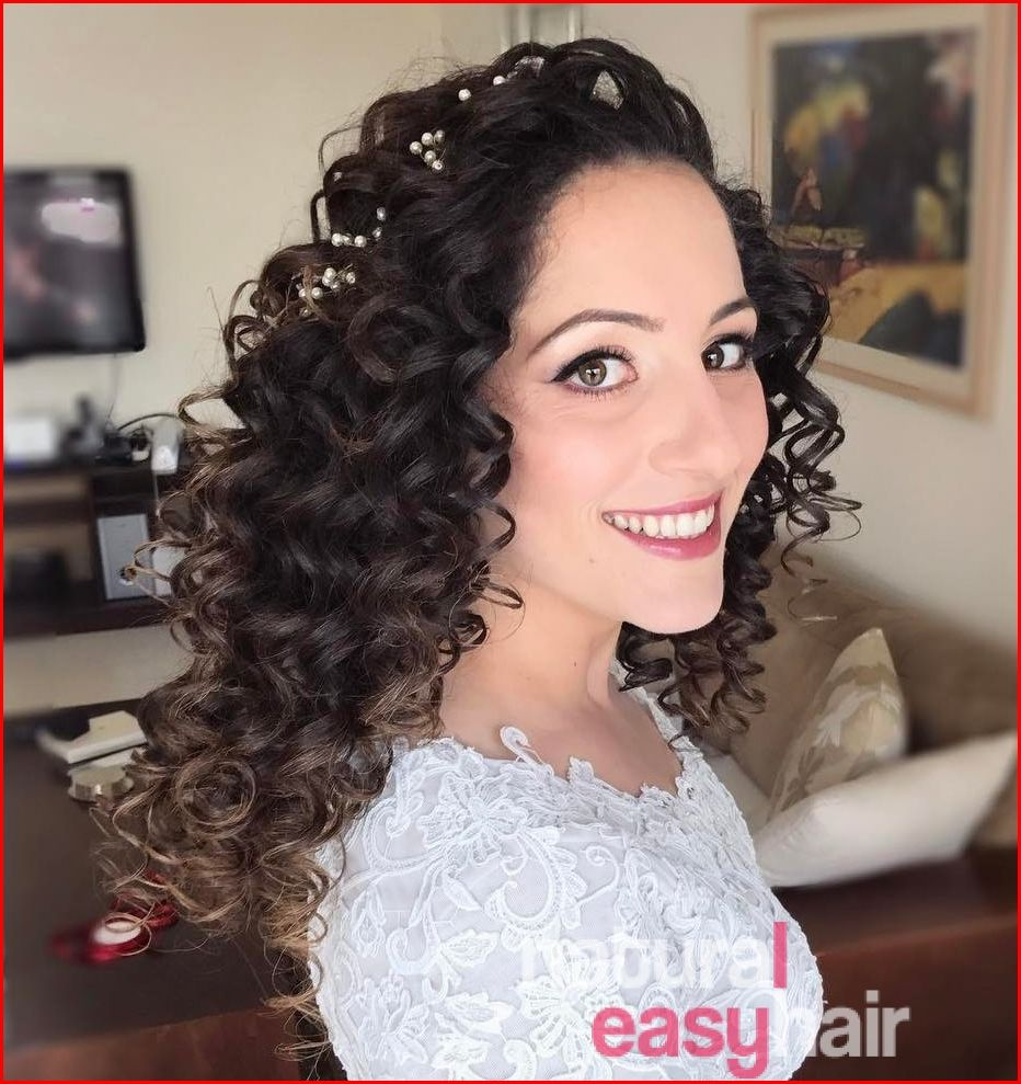 The most popular and curly wedding hairstyles curly wedding