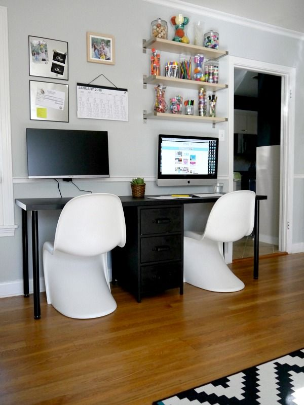 Awesome Two Person Desk Debut Inspiration Galore Anything Home Interior And Landscaping Elinuenasavecom