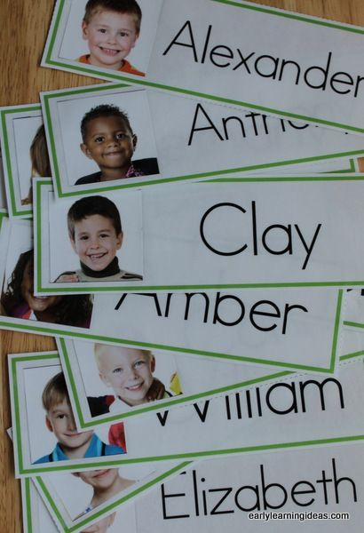 Name Cards: Make Name Cards for Your Word Wall | BACK TO SCHOOL ...