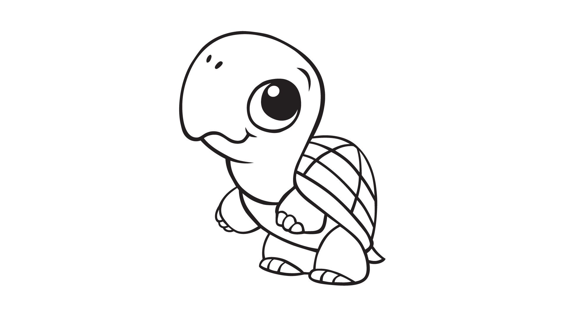 coloring pages of baby penguins | Baby Turtle Coloring Pages Baby ...