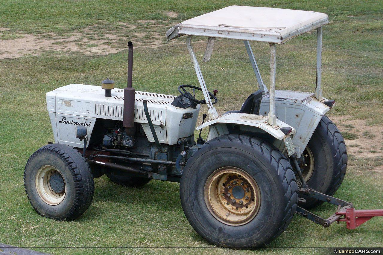 lamberghini tractor | classic lamborghini tractor currently in use
