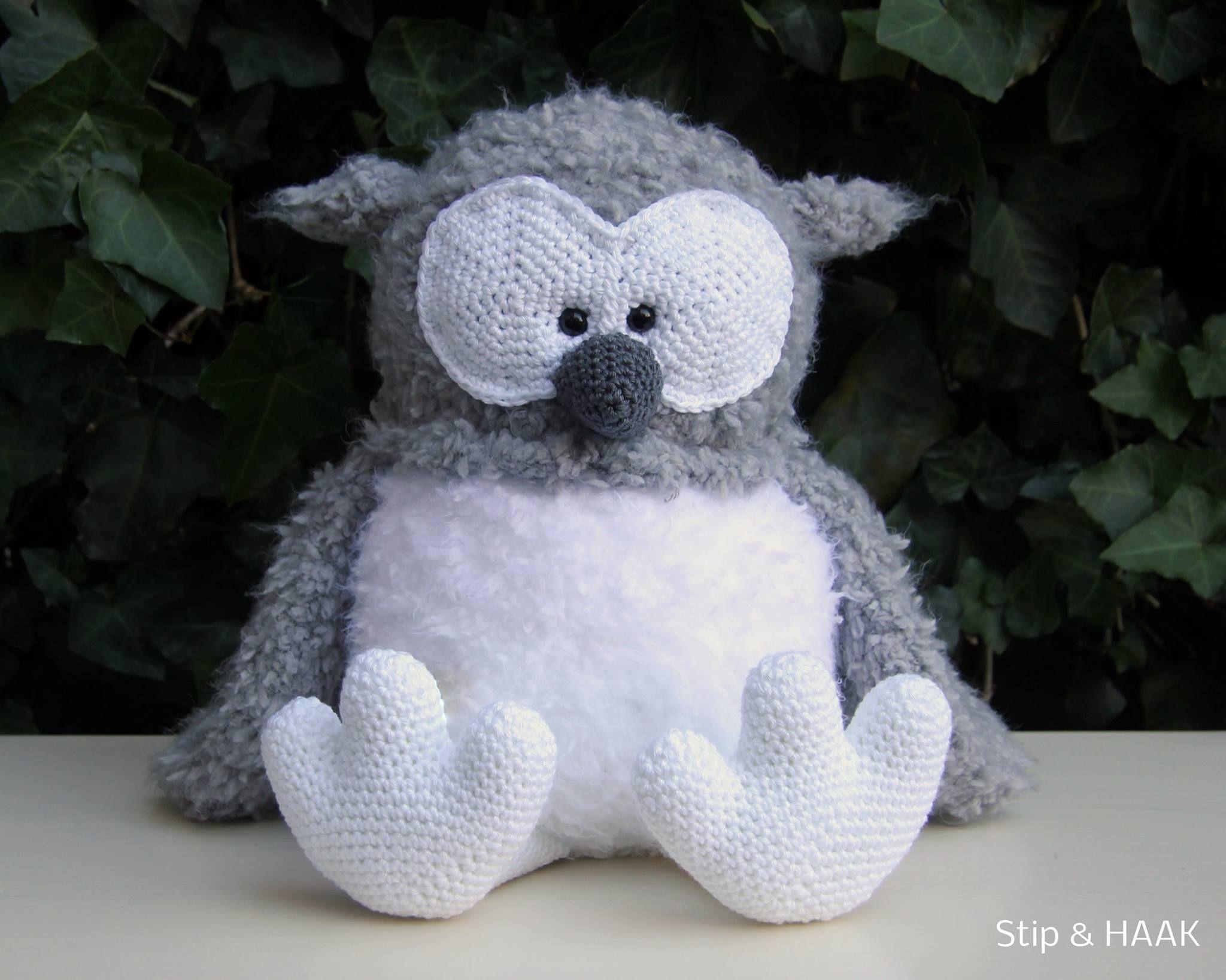 uil stip en haak | # Owls1 ✩ Eulen ✩ Gufi* | Pinterest
