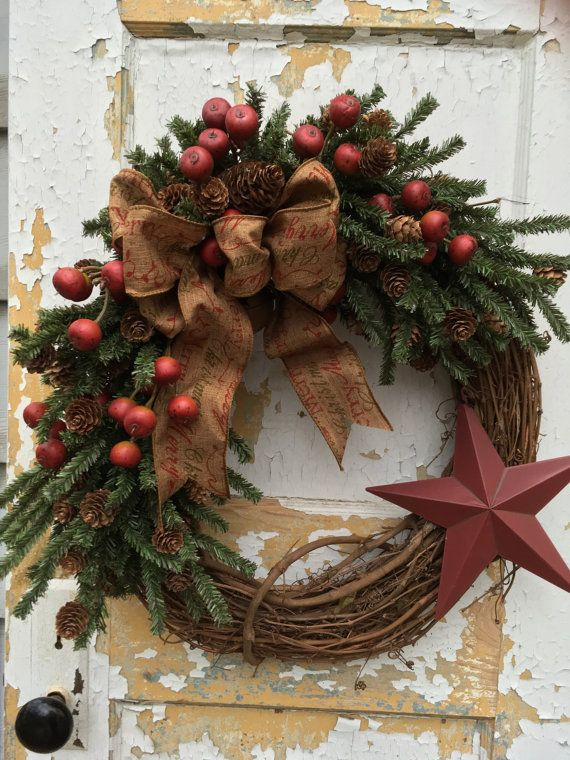 Pin by Lisa Taylor on Christmas outdoor decor Pinterest Wreaths