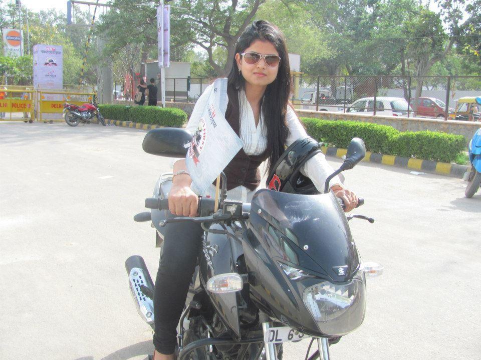 All Women Bike Rally in Delhi | girl rider | Pinterest ...