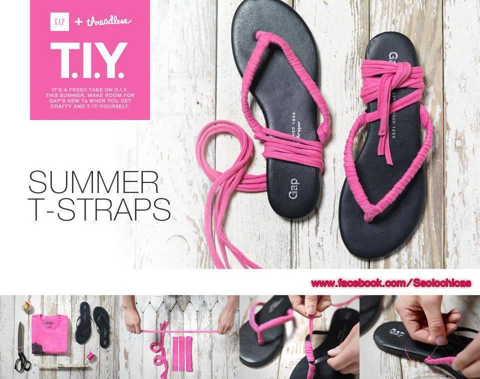 Summer T-straps
