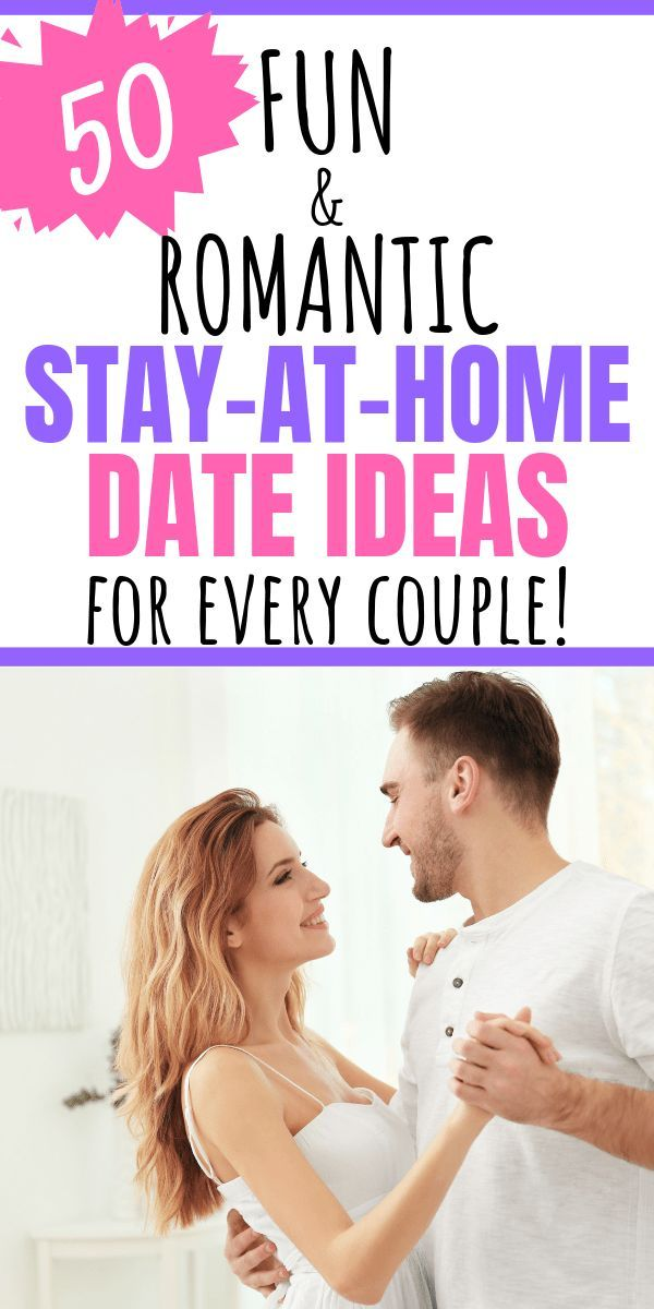 The Ultimate List of At Home Date Ideas #stayathome