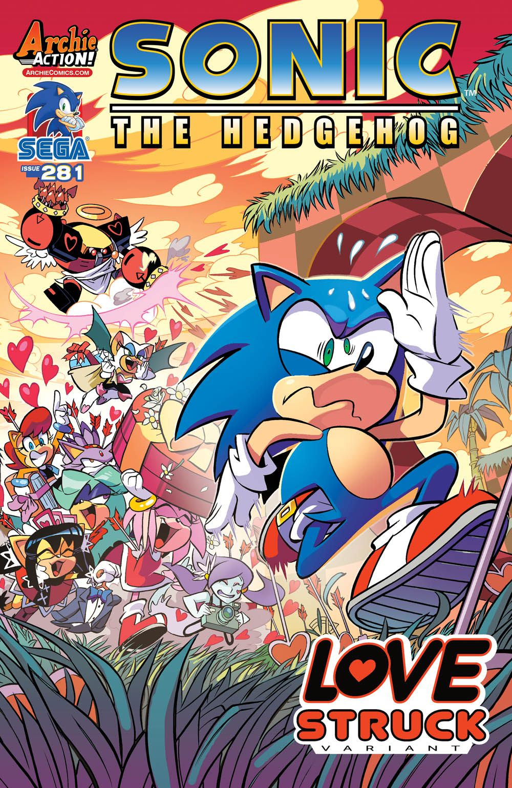 Sonic x screenshots sonic the hedgehog image sonic x episode 64 a - Shop For Sonic The Hedgehog Variant Cover B Diana Skelly From Archie Comic Publications Written By Ian Flynn Comic Book Hits Store Shelves On May 2016