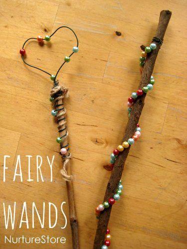 Make a magic wand :: waldorf steiner play - NurtureStore