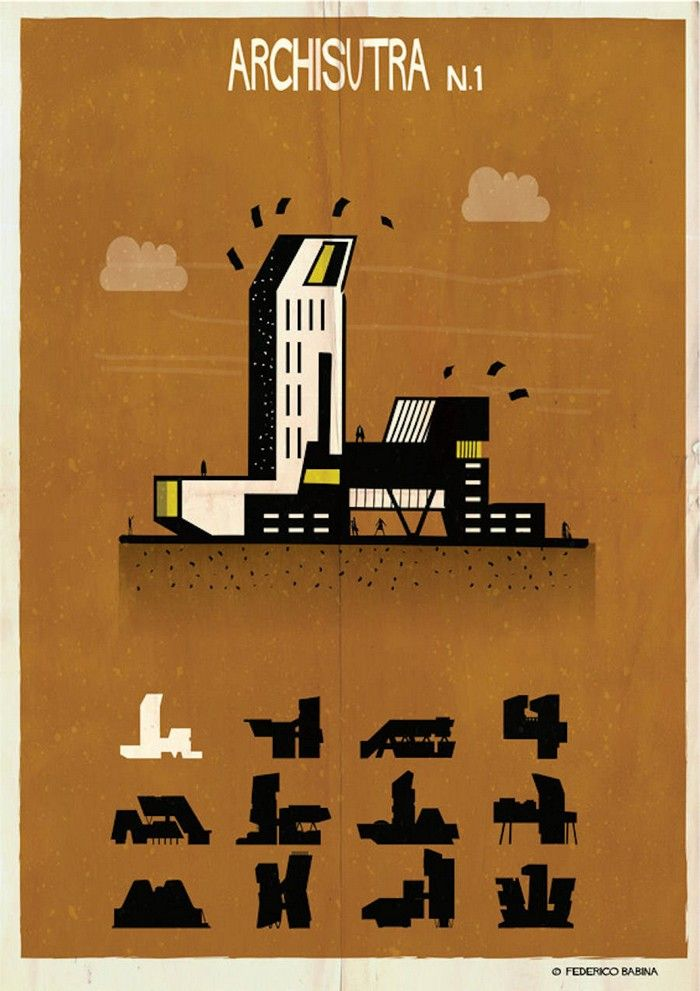 Kama Sutra architectural illustrations|archisutra, architectural Kama Sutra, artists, contemporary art, Federico Babina|for more inspirations or amazing pictures check: http://www.bocadolobo.com/en/inspiration-and-ideas/