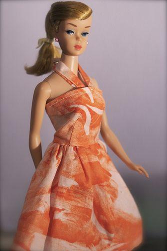 Vintage Barbie - Swirl ponytail - Blonde