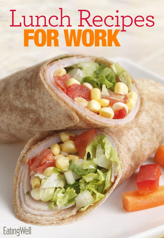 Our best lunch recipes to take to work-- available in a downloadable