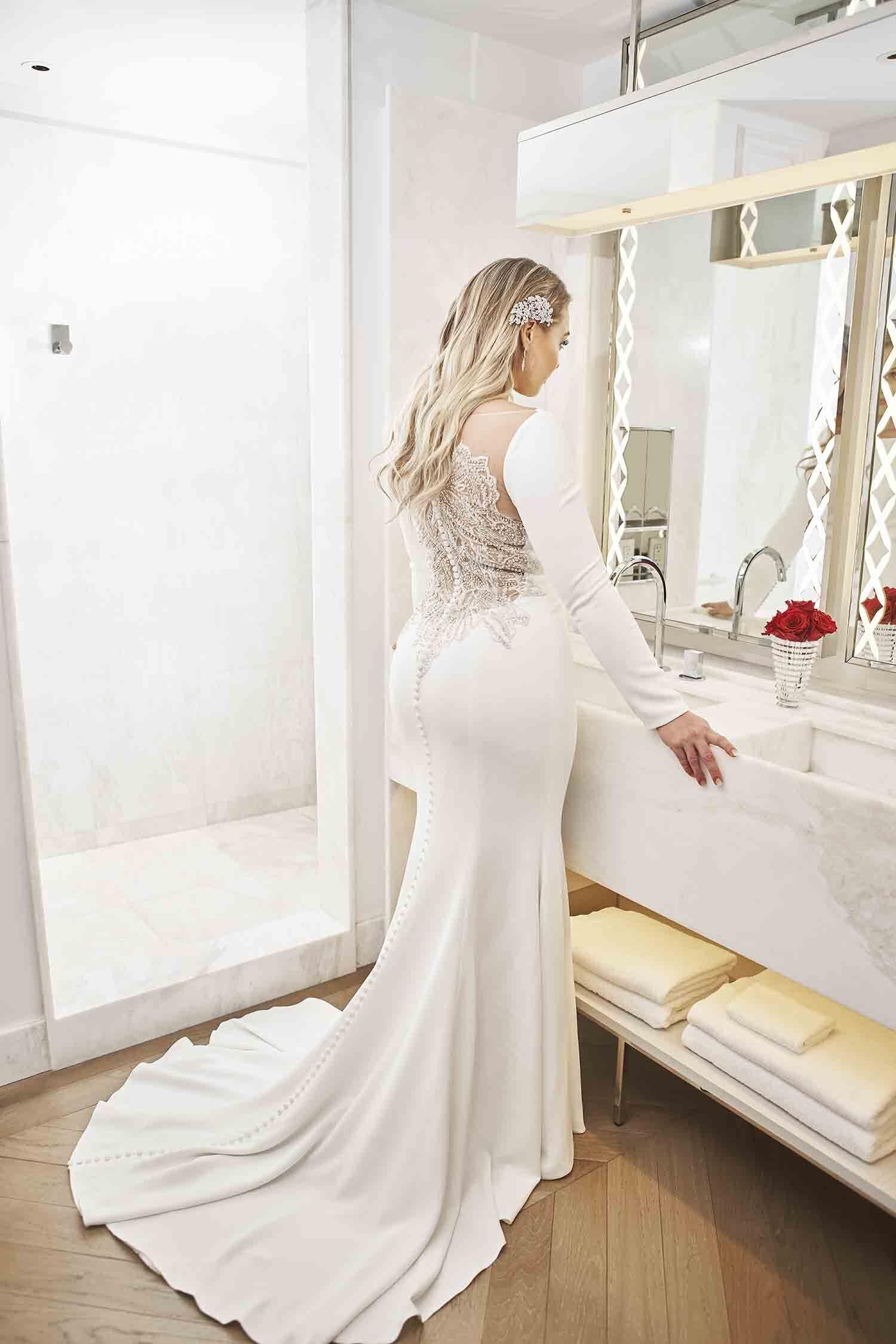 Plus Size Wedding Dresses Uptown Bride Curvy Wedding Dress Wedding Dress Sleeves Wedding Dress Long Sleeve [ 2249 x 1500 Pixel ]