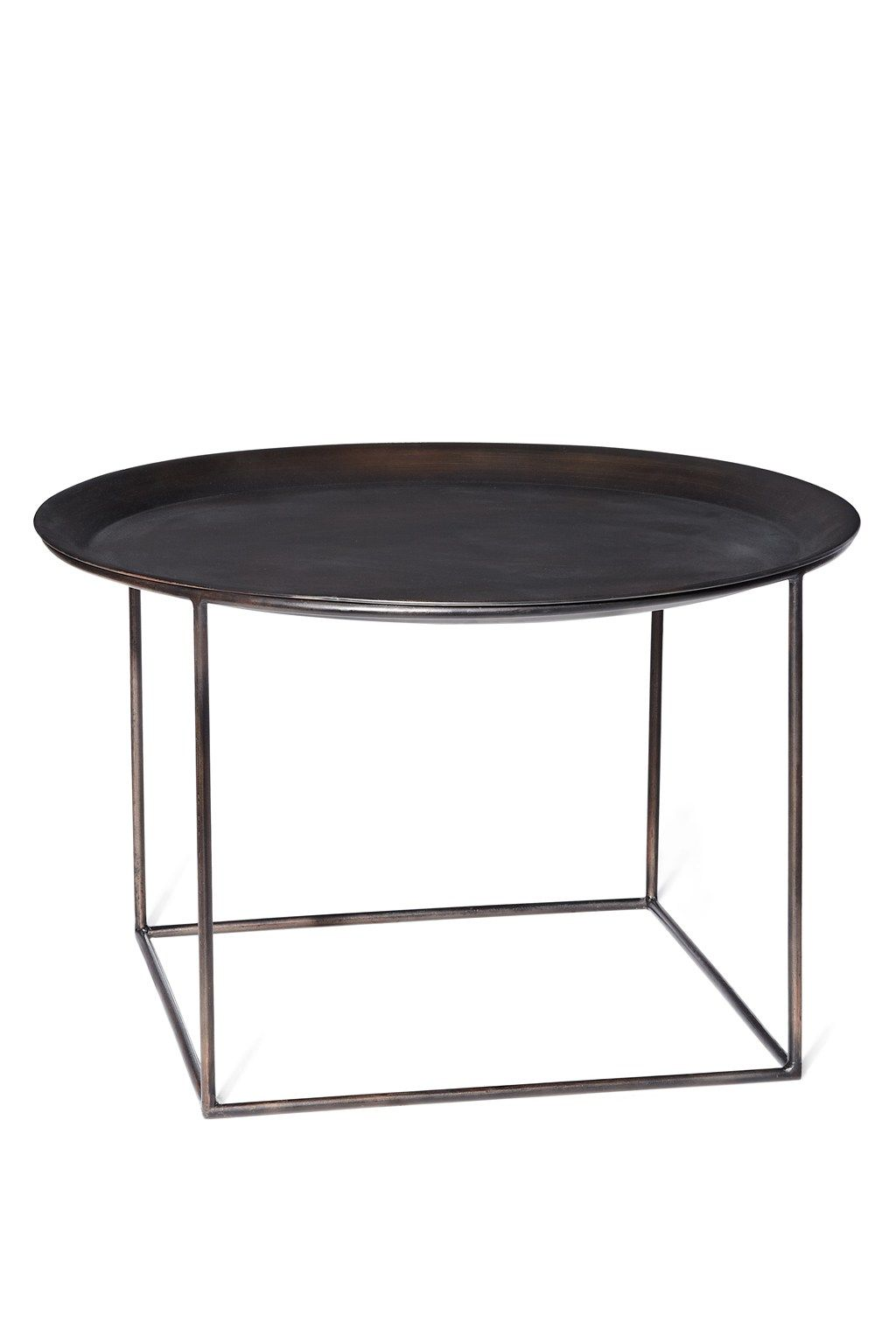 French connection round steel coffee table furniture french connection round steel coffee table geotapseo Choice Image