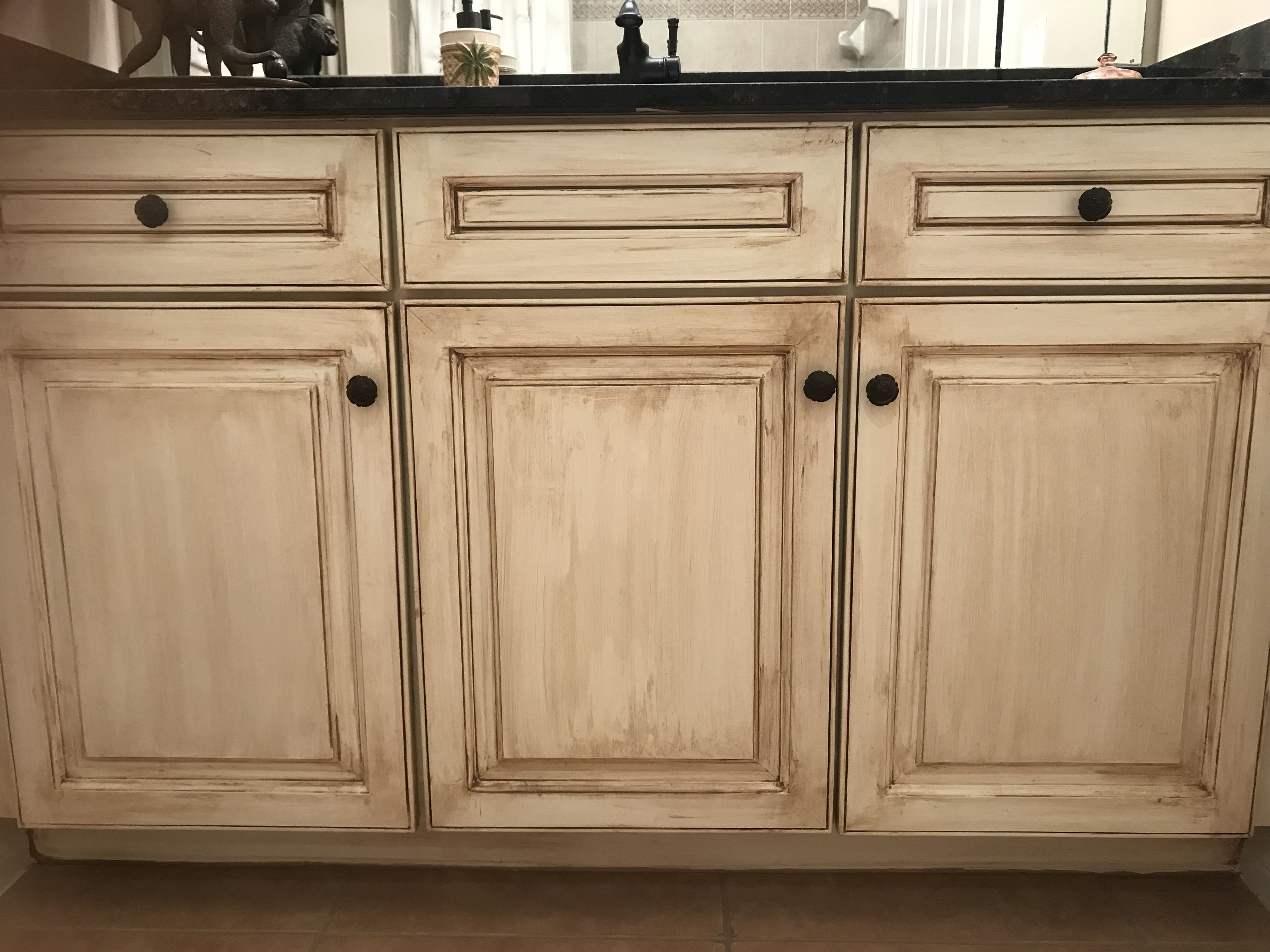 Pin By Swan Studios Inc On Faux Finishes Painted Finishes On Cabinets Cabinet Refresh Kitchen Cabinets In Bathroom Painting Cabinets